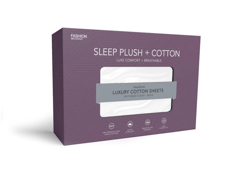 Sleep Plush + Cotton Luxury Sheet Set Image